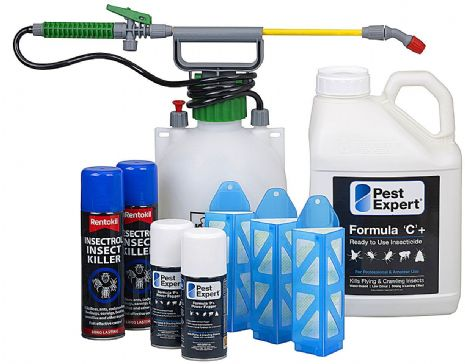 Food Moth Control Kit for Commercial Kitchen. Pest-Expert.com